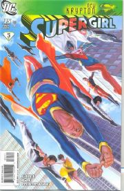 Supergirl #35 New Krypton Part 5 (2008) Alex Ross DC comic book